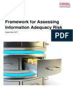 CRISIL - Framework for Assessing Information Adequacy Risk