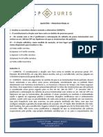 CP Iuris - PROCESSO PENAL IX - Questoes Comentadas