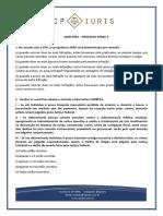 Cp Iuris - Processo Penal v - Questoes