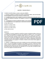 CP Iuris - PROCESSO PENAL VI - Questoes Comentadas