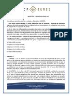 Cp Iuris - Processo Penal Viii - Questoes Comentadas
