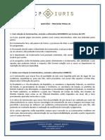 Cp Iuris - Processo Penal Vii - Questoes