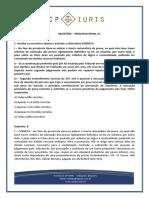 CP Iuris - PROCESSO PENAL XI - Questoes Comentadas
