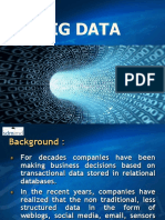 7. Introduction to Big Data