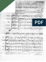 Porpora Aria Cello Solista Archi (Trascinato)