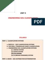 Unit 4 Soil Classification