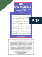 Gesing, Fritz - Kreativ Schreiben - Handwerk Und Technik Des Erzaehlens