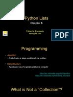 Pythonlearn 08 Lists
