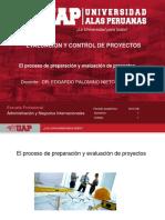 Semana 1-El Proceso de Preparación y Evaluación de Proyectos
