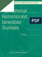 Epdf.pub Hyperspherical Harmonics and Generalized Sturmians