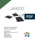 Manual Tableta Bamboo