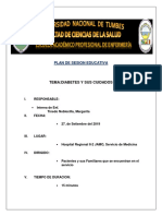 diabetes mellitus (plan de charla)