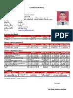 Curriculum Vitae Roy Duwi Prasetia Gultom