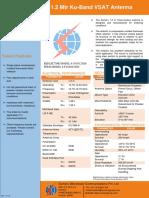 1.2 m Ku Band Data Sheet