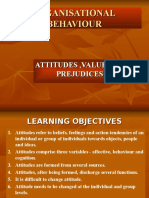 CHAPTER 3(Attitude,Values