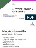 4. Vesícula y vías biliares