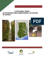 Designing Subnational REDD+ Frameworks for Ghana