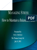 Stress Management Web