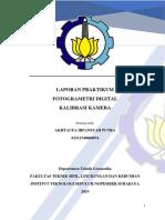 Laporan Praktikum Kalibrasi Kamera - Akhtaufa Irfansyah P - 03311740000074