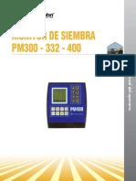 Monitor de Siembra PM300 - 332 - 400