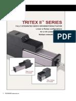Atuadores Rotativos Eletromecanicos Com Drive Integrado Serie Tritex - 2