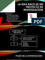 Exposicion de Investigacion