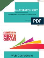 itinerário avaliativos 2019