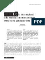 DE O INTERNACIONAL A LO MUNDIAL MEMORIA DE UMA TRAYECTORIA CONTRADICTORIA.pdf