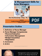Leadership and Management Skills for Nurse Managers 2-10-2017.