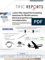 Use of Carbon Fiber Polymer Nanocomposites in Flexible Sensors