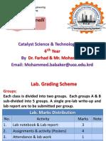 Introduction of Catalyst مقدمة