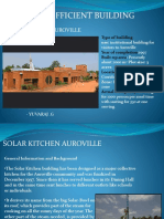 Energy Effecient Build - Solar Kitchen