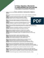 Criterios de Valoración e Física Deportes
