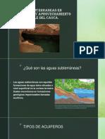 Aguas Subterraneas en Colombia y Aprovechamiento en El