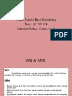 visi dan misi Candra reta f (201501124).pptx