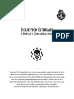 DDAL09-01 - Escape from Elturgard