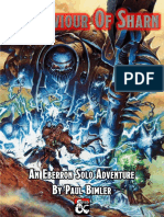 5E Solo Gamebooks - The Saviour of Sharn
