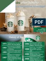 Starbucks After Howard Schultz