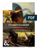 Ultimate Gladiator Character Build Guide