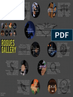 Batman Rogues Gallery Rogues Gallery Infographic