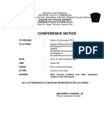 Conference Notice