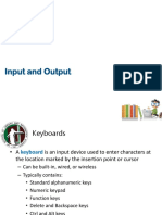 04 Input and Output