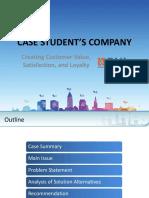 creating customer's value