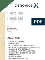 Flextronics FINAL Ppt