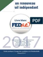 Livre Blanc 2017 Pour Un Renouveau Du Travail Indépendant