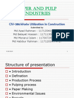 Pulp and Paper Industry Presentation (1)