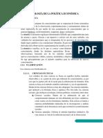 Metodología de La Política Económica