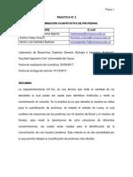 Cuantificacion de Proteinas. (2017)