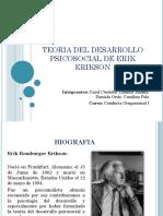Teoria Del Desarrollo Psicosocial de Erick Erickson