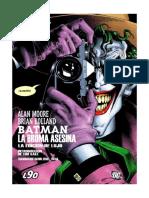 Batman. La Broma Asesina - Allan Moore y Brian Bolland